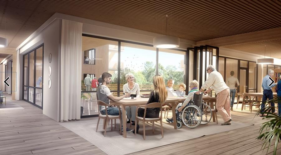 Byggeplassbefaring Edvardsløkka Omsorgssenter i Kongsberg