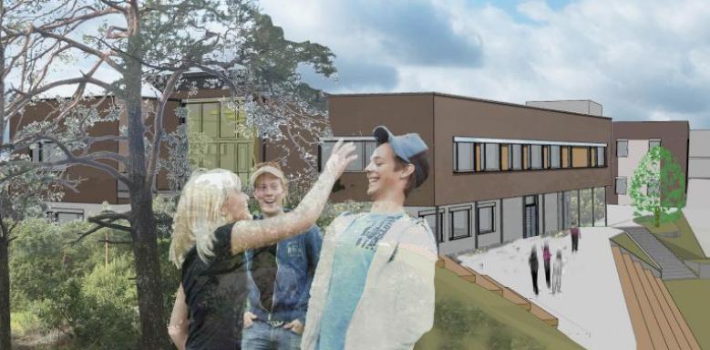 Byggeplassbefaring Havlimyra skole i Kristiansand